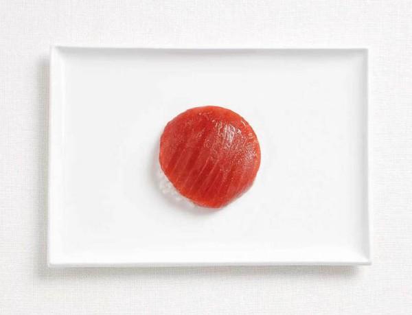 Japonesa feta de tonyina i arròs.